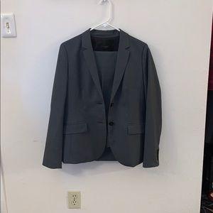 J. Crew wool suit. Jacket size 10 pants size 6